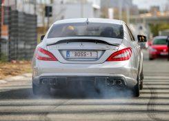 700HP RENNtech Mercedes CLS63 AMG BiTurbo – LOUD Revs, Crackles, Burnouts & Accelerations!