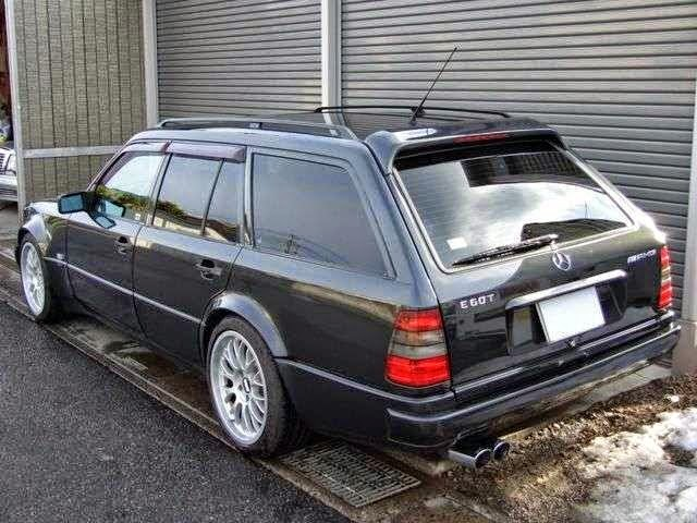 9 Photos) Mercedes-Benz W124 E-class E60 AMG T-Wagon – Benz Club