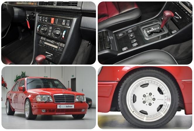 (16 photos) Mercedes-Benz W124 Red E60 AMG
