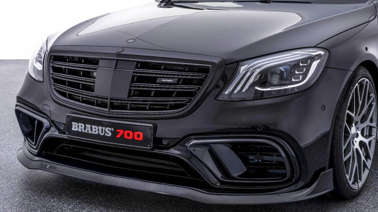 BRABUS 700 based on Mercedes-AMG S 63 facelift