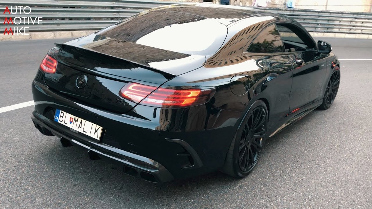 BRABUS 700 BiTurbo S63 AMG COUPE - LOUD Exhaust Sounds!