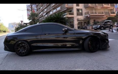 BRABUS 700 S63 AMG 5.5 V8 Biturbo - Start, LOUD Revs, Accelerations!