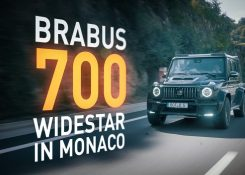 BRABUS 700 WIDESTAR based on Mercedes-AMG G 63