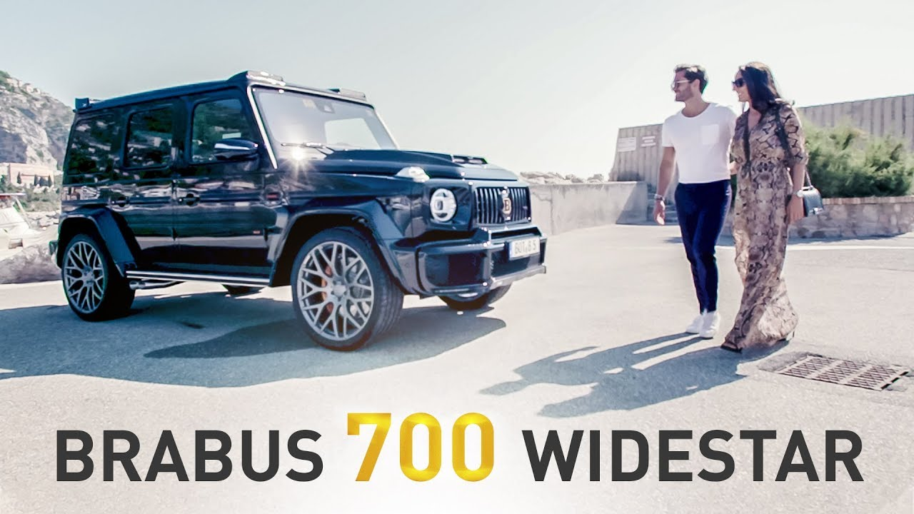 BRABUS 700 WIDESTAR based on Mercedes-AMG G 63 | Cinematic