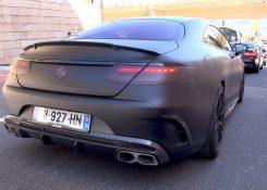 BRABUS 850 6.0 BiTurbo V8 S63 AMG COUPE – BRUTAL EXHAUST SOUNDS!