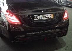 BRABUS 850 S63 AMG 6.0 V8 Biturbo Sound!