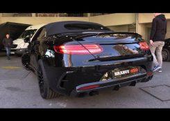 BRABUS 850 S63 AMG 6.0 V8 Biturbo – LOUD Engine Sounds & Revs!