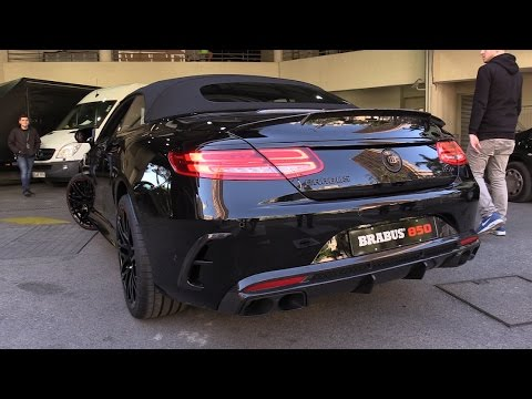 BRABUS 850 S63 AMG 6.0 V8 Biturbo - LOUD Engine Sounds & Revs!
