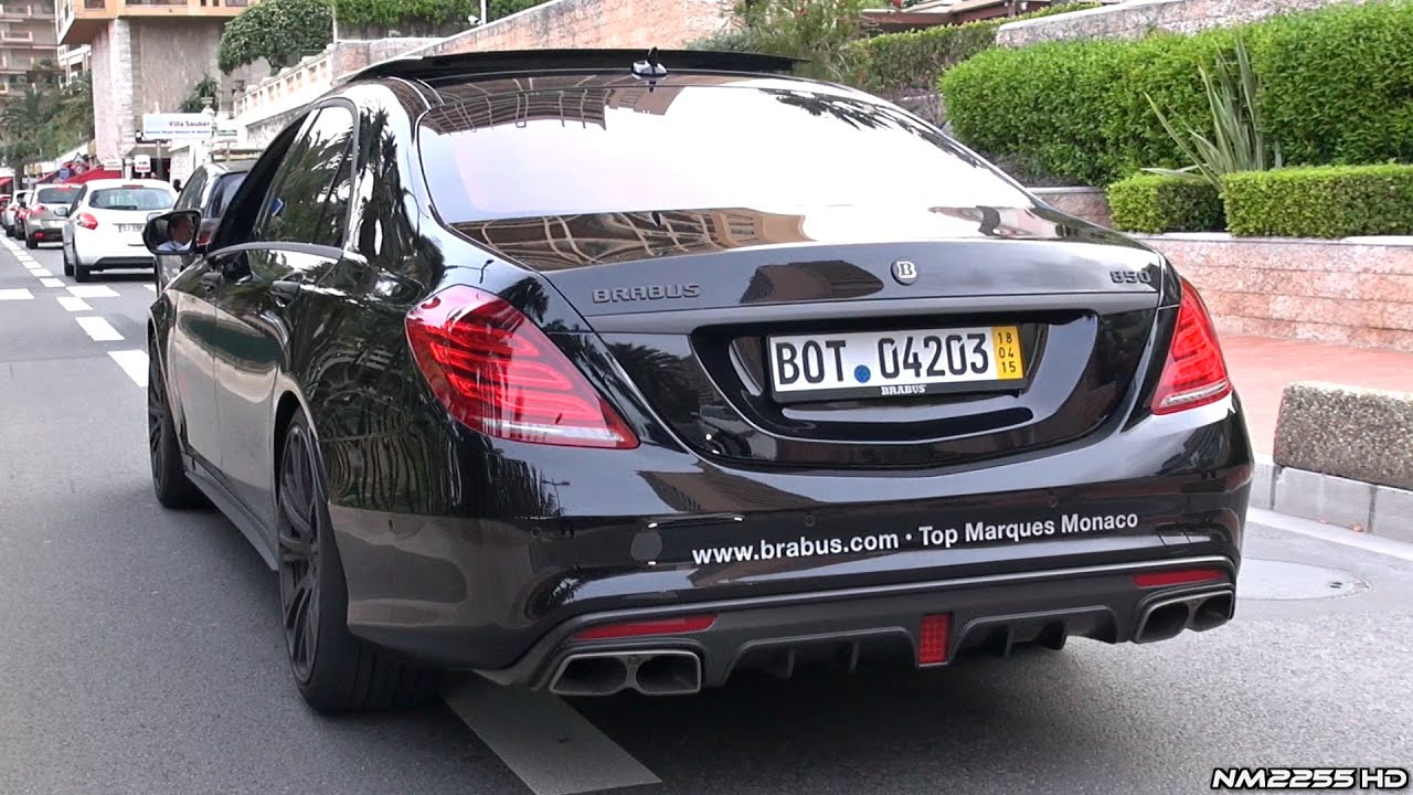 BRABUS 850 S63 AMG 6.0 V8 Twin-Turbo - LOUD Exhaust Sound