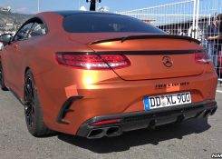 BRABUS 850 S63 AMG Coupè 6.0 Bi-Turbo V8 – LOUD Exhaust Sounds!