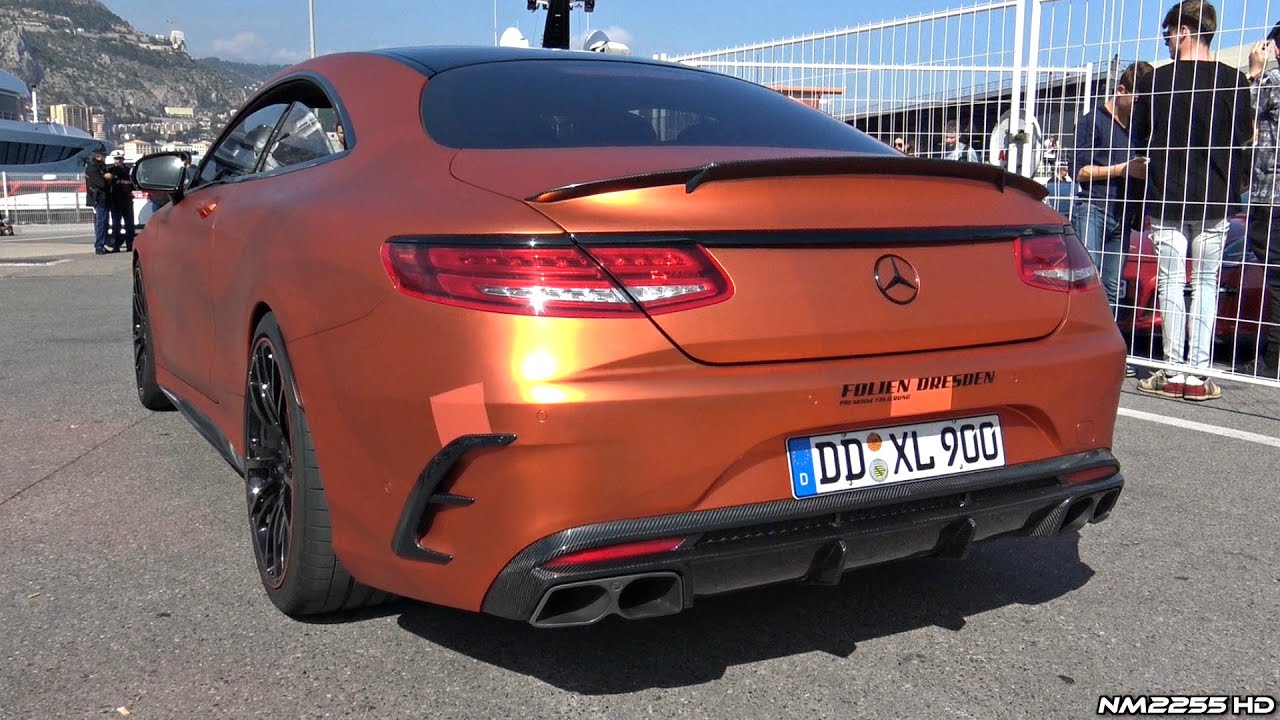 BRABUS 850 S63 AMG Coupè 6.0 Bi-Turbo V8 - LOUD Exhaust Sounds!