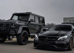 Brabus G500 4×4² & Mercedes-Benz C63s AMG Coupe!
