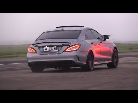 BRABUS Mercedes-Benz CLS63 S AMG La Performance - Revs, Accelerations, Drag Racing!