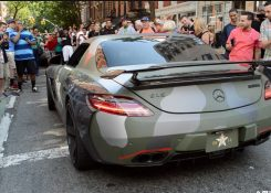 BRABUS Mercedes Benz SLS AMG HUGE REVS! Loudest SLS Ever!