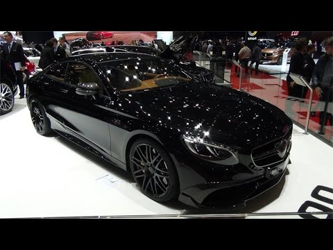 Brabus Rocket 900 V12 Coupe based on Mercedes-Benz S 65 AMG Coupe C217