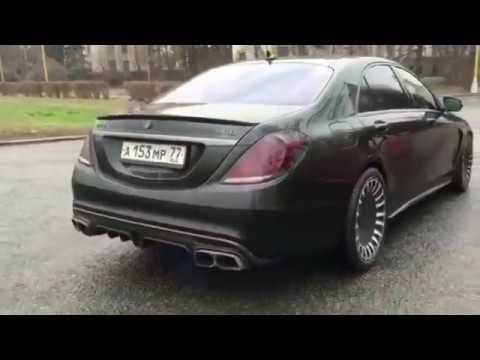 BRABUS S900 ROCKET V12 S65 MONSTER AMG!! RUSSIAN