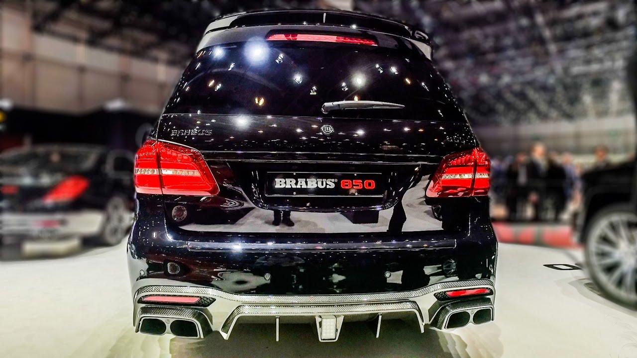 BRABUS XL 850 6.0 BITURBO (GLS63 AMG)