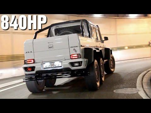 MANSORY Mercedes G6x6 AMG Sound!