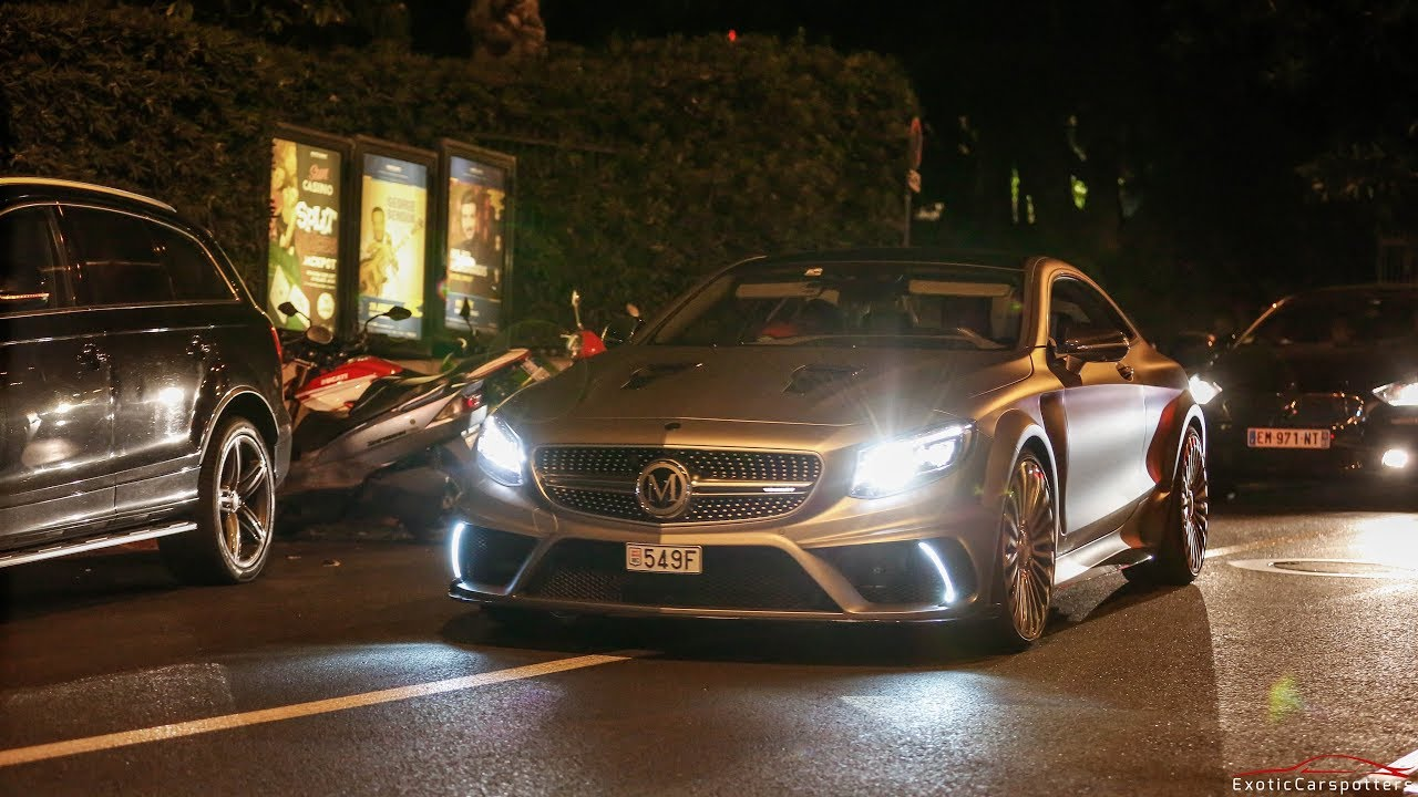 Mansory Mercedes S63 AMG Coupé - Accelerations & Driving in Monaco !