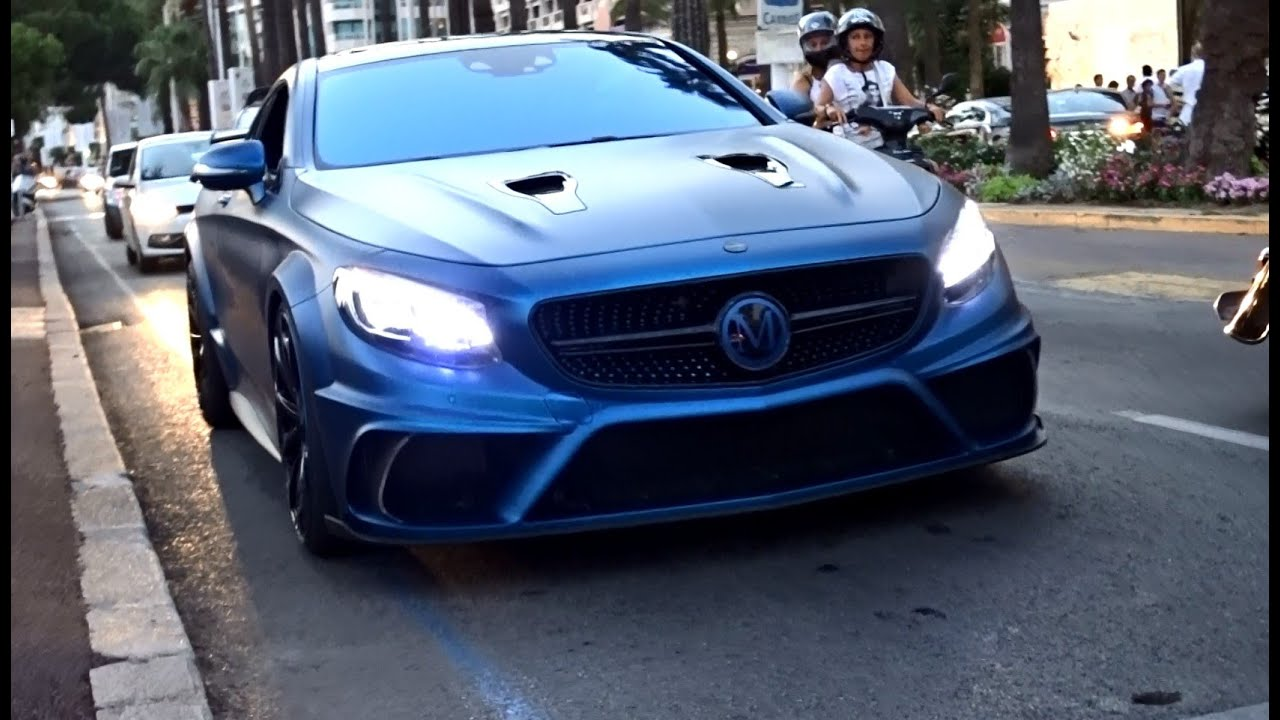 Mansory S 63 AMG Coupé Diamond Edition in Cannes