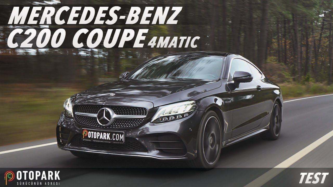 Mercedes-Benz C200 Coupe 4MATIC