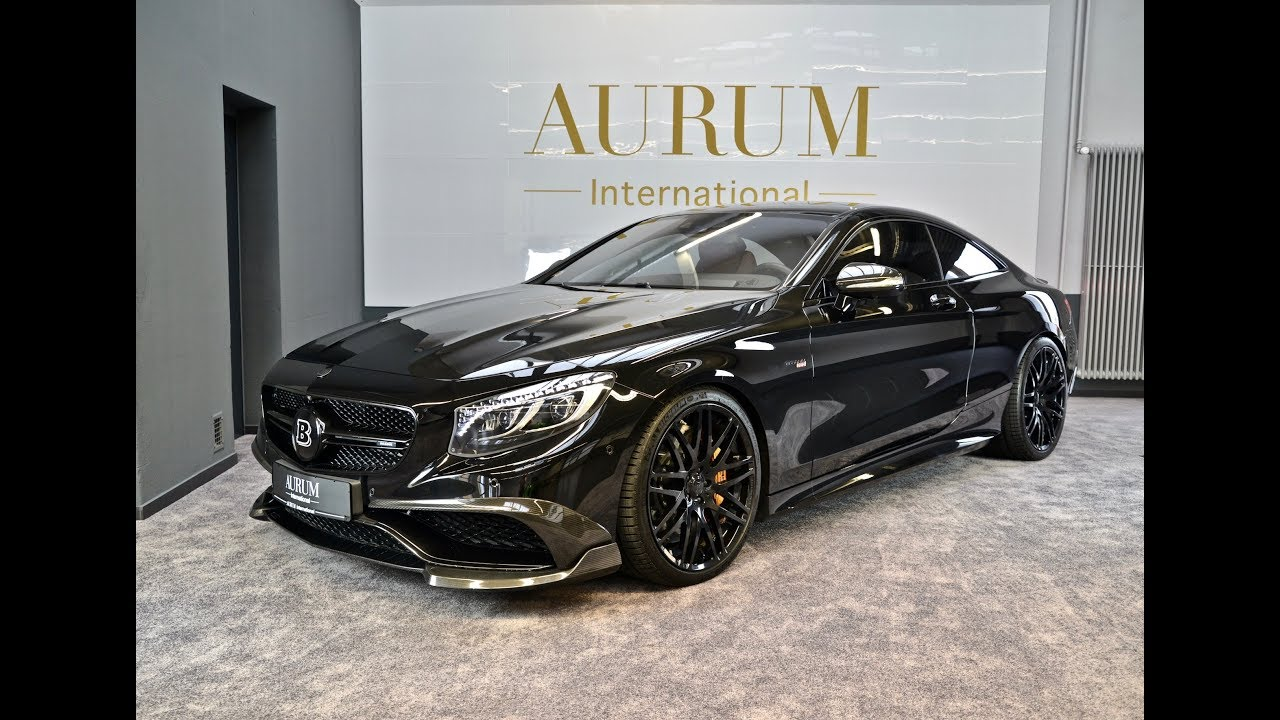 MERCEDES-BENZ S63 AMG *BRABUS* S730 by AURUM International