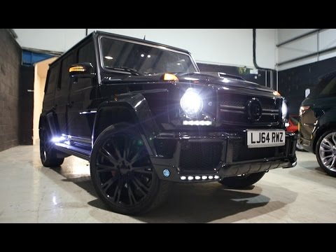 Mercedes G63 Brabus's 700bhp AMG - In Depth Review Interior Exterior, Startup Engine