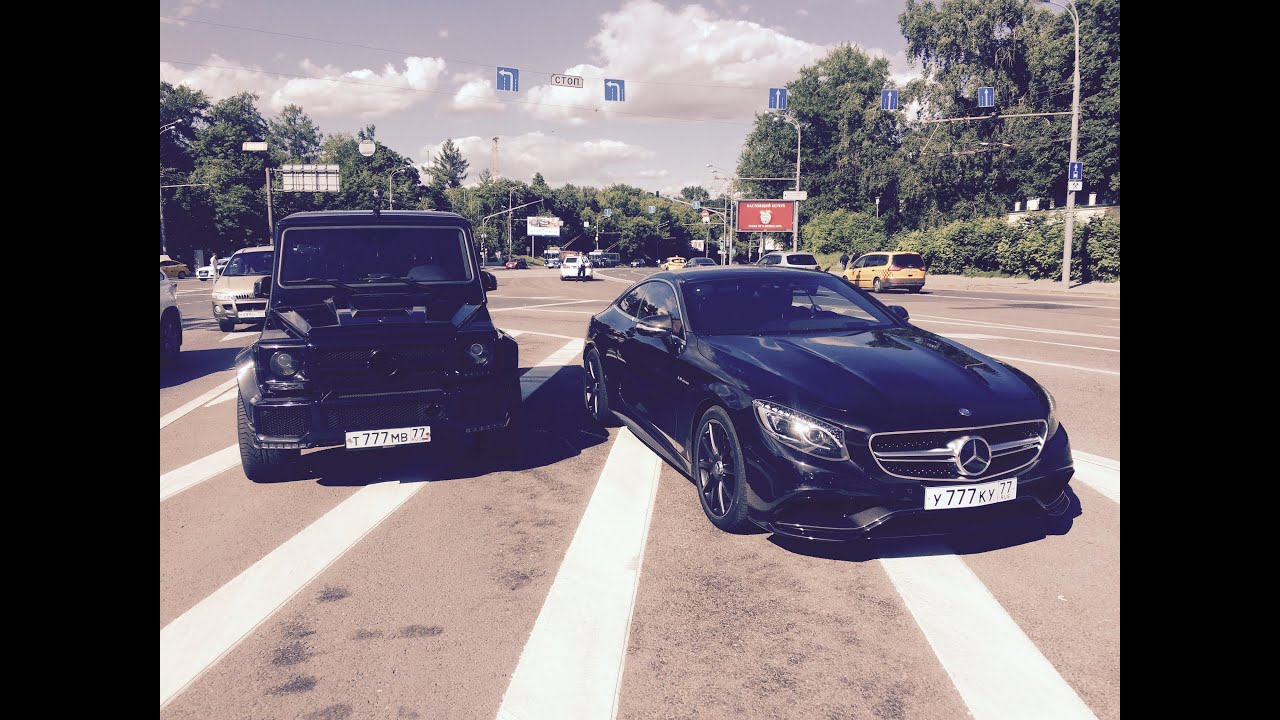 Mercedes S63 AMG Coupe & G63 AMG Brabus