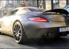 Mercedes SLS AMG w/ Brabus Exhaust – INSANE Revs & SOUNDS!