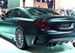 One Of One 1000 HP(!) Mansory Mercedes S-Class Limousine Black Edition