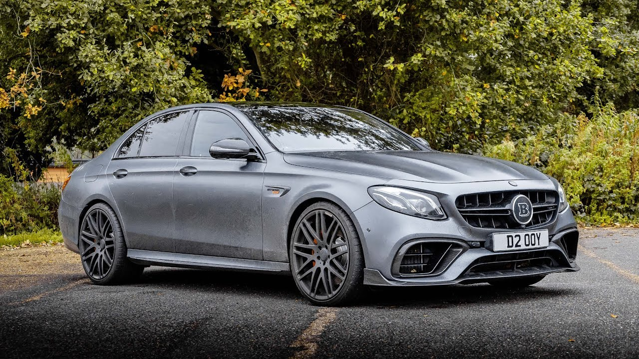THE £170,000 MERCEDES-AMG E63 S BRABUS 700