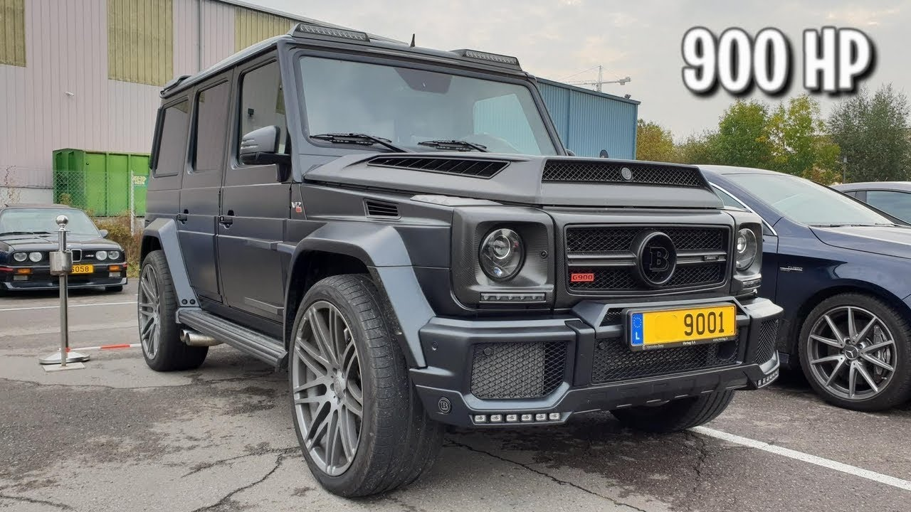 This is very RARE! One of Ten BRABUS G900 and the Sound!