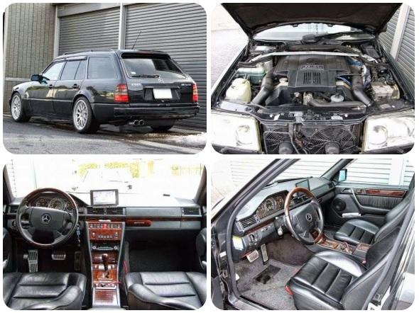 (9 Photos) Mercedes-Benz W124 E-class E60 AMG T-Wagon