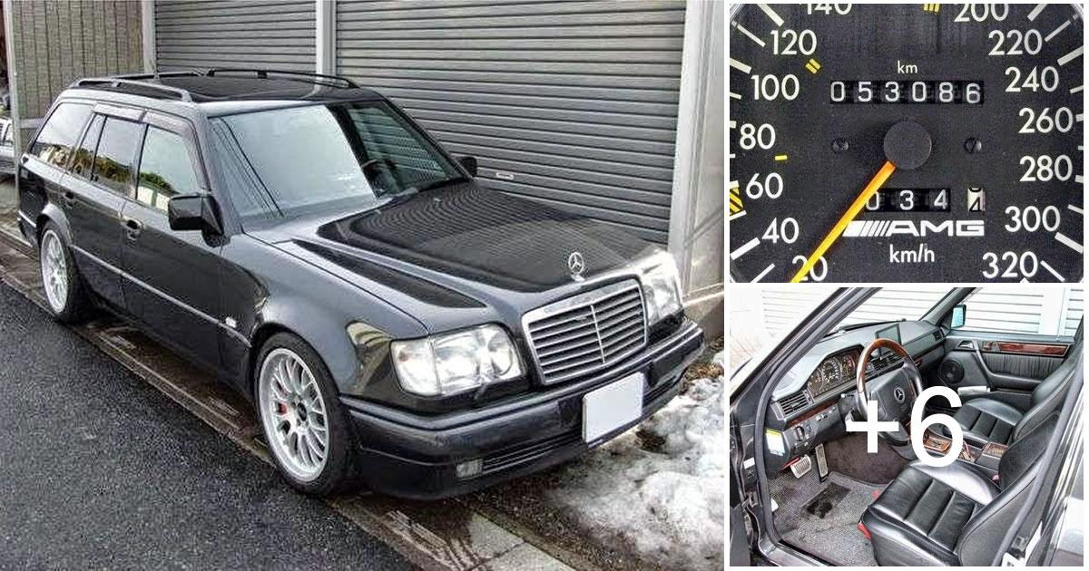 Mercedes-Benz W124 E-class E60 AMG T-Wagon