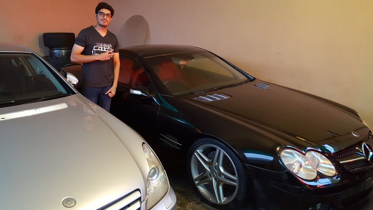 We found a Rare SL55 BRABUS and CLS55 AMG