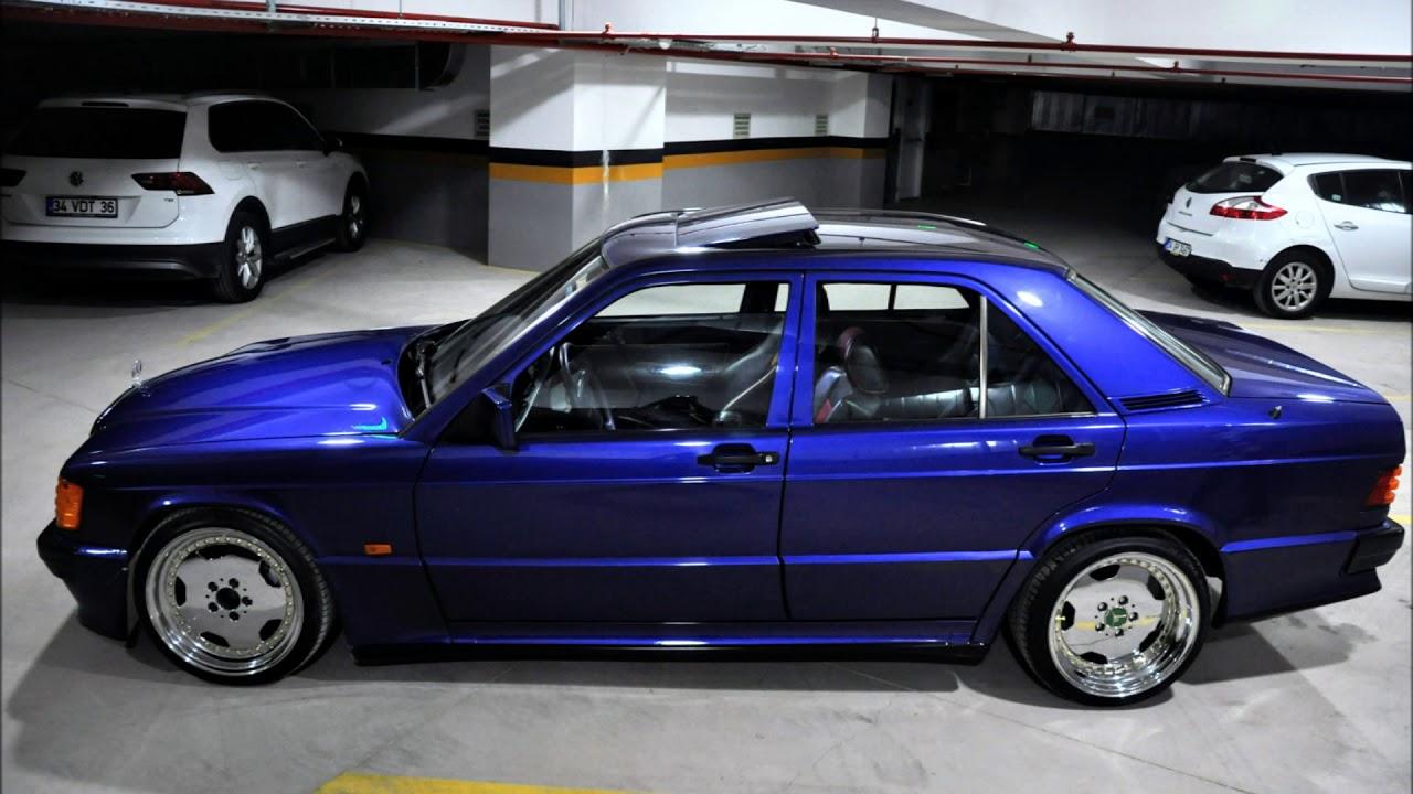 1993 Mercedes-Benz 190E Avantgarde Azzurro Cosworth Project Restoration in Turkey