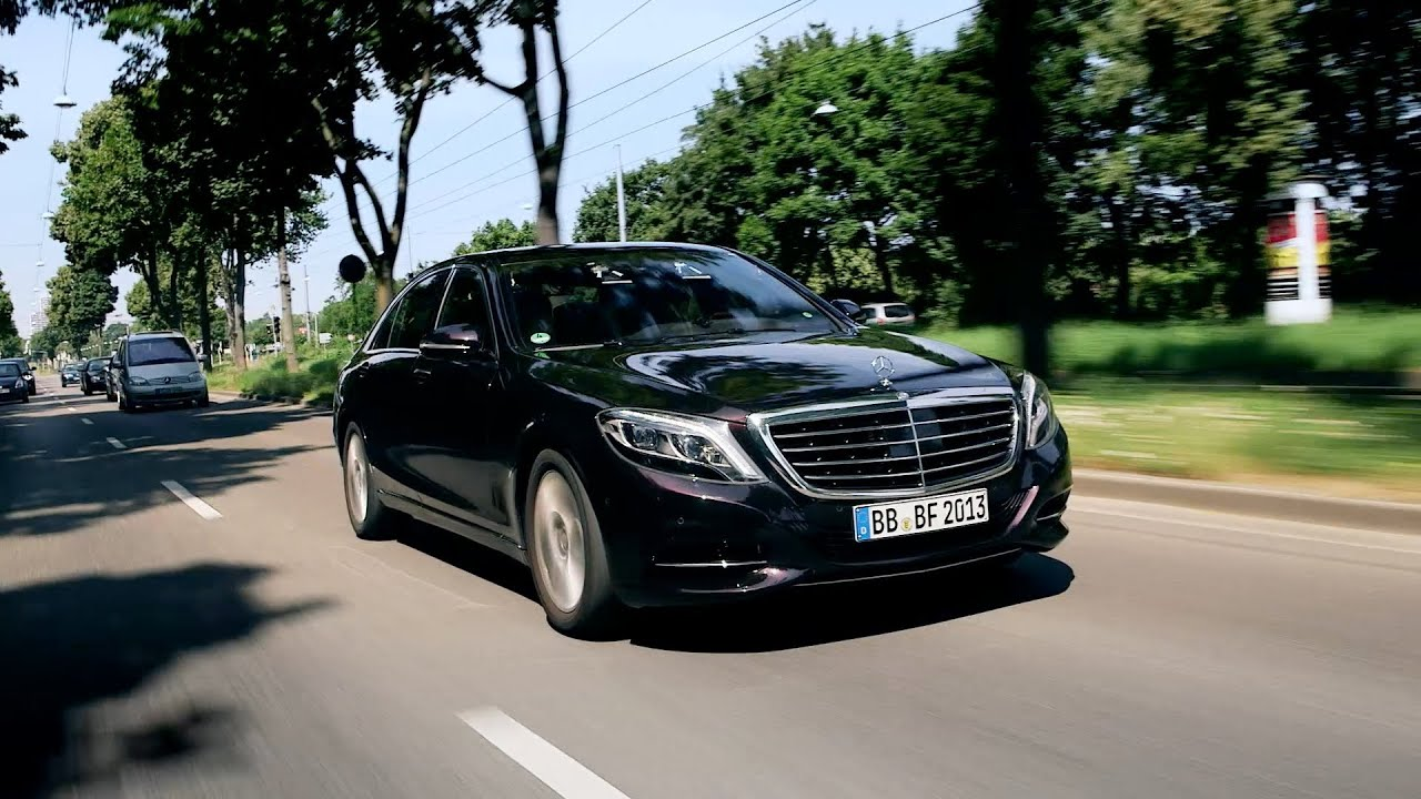 2014 Mercedes S 500 INTELLIGENT DRIVE (Autonomous driving) TRAILER