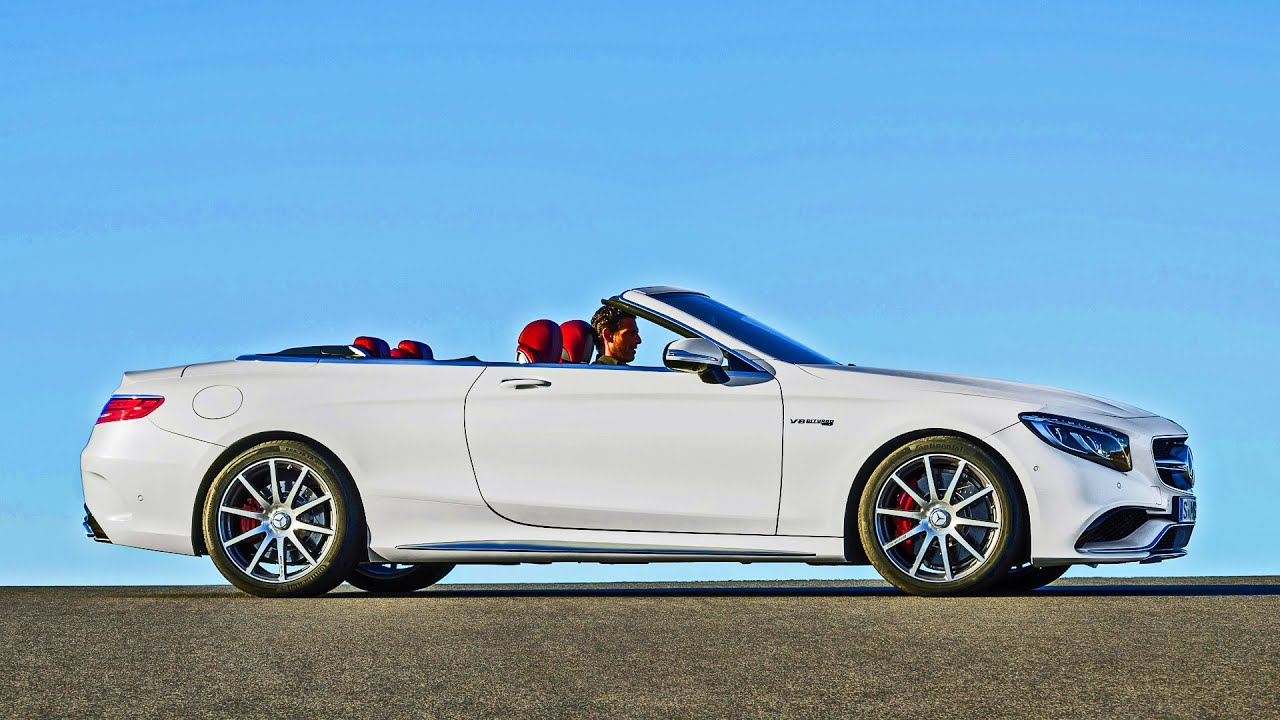 2016 Mercedes-AMG S 63 Convertible - Footage - Walkaround and Driving