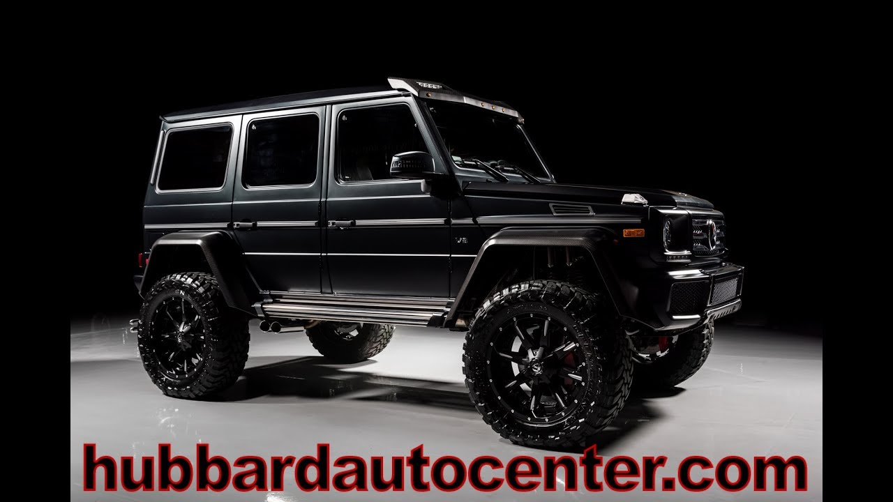 2017 Mercedes-Benz G-Class G550 4x4 squared with custom wheels