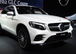 2017 Mercedes-Benz GLC Coupe and GLC43 AMG First Look