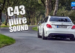2018 Mercedes-AMG C43 (430hp) – pure SOUND (60FPS)