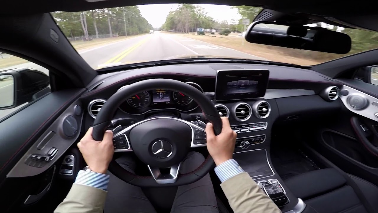 2018 Mercedes-Benz C43 AMG Coupe POV drive