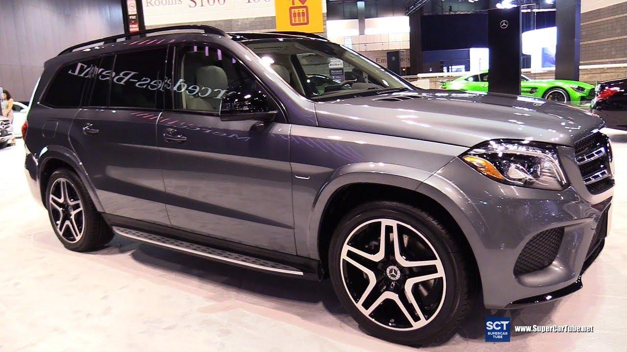 2018 Mercedes Benz GLS Class GLS 550 SUV - Exterior Interior Walkaround