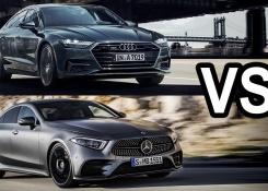 2018 Mercedes CLS vs 2018 Audi A7 Sportback