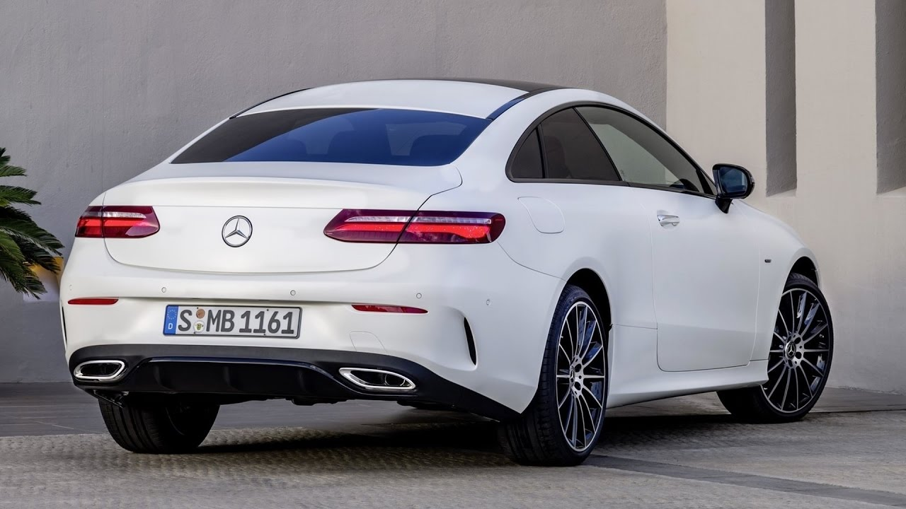 2018 Mercedes E-Class - Perfect Coupe!