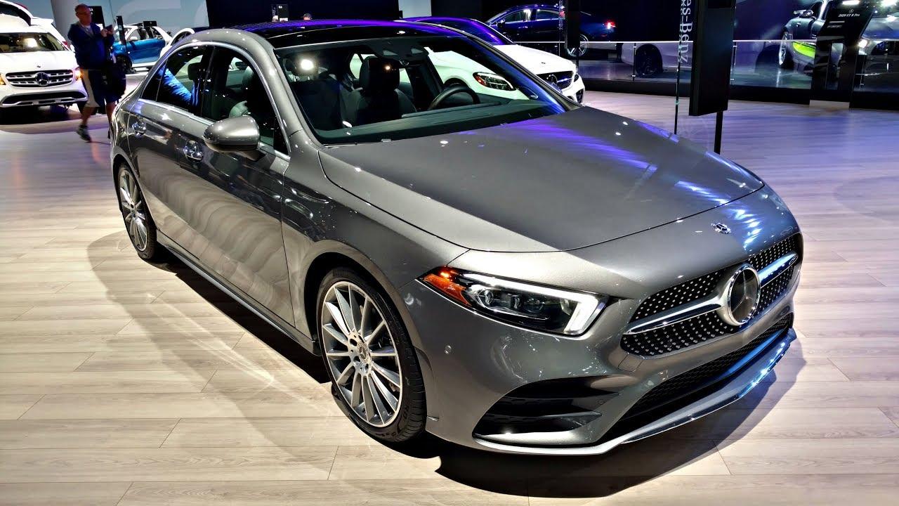 2019 Mercedes-Benz A-Class - POV Walkaround Exterior & Interior - 2018 LA Auto Show
