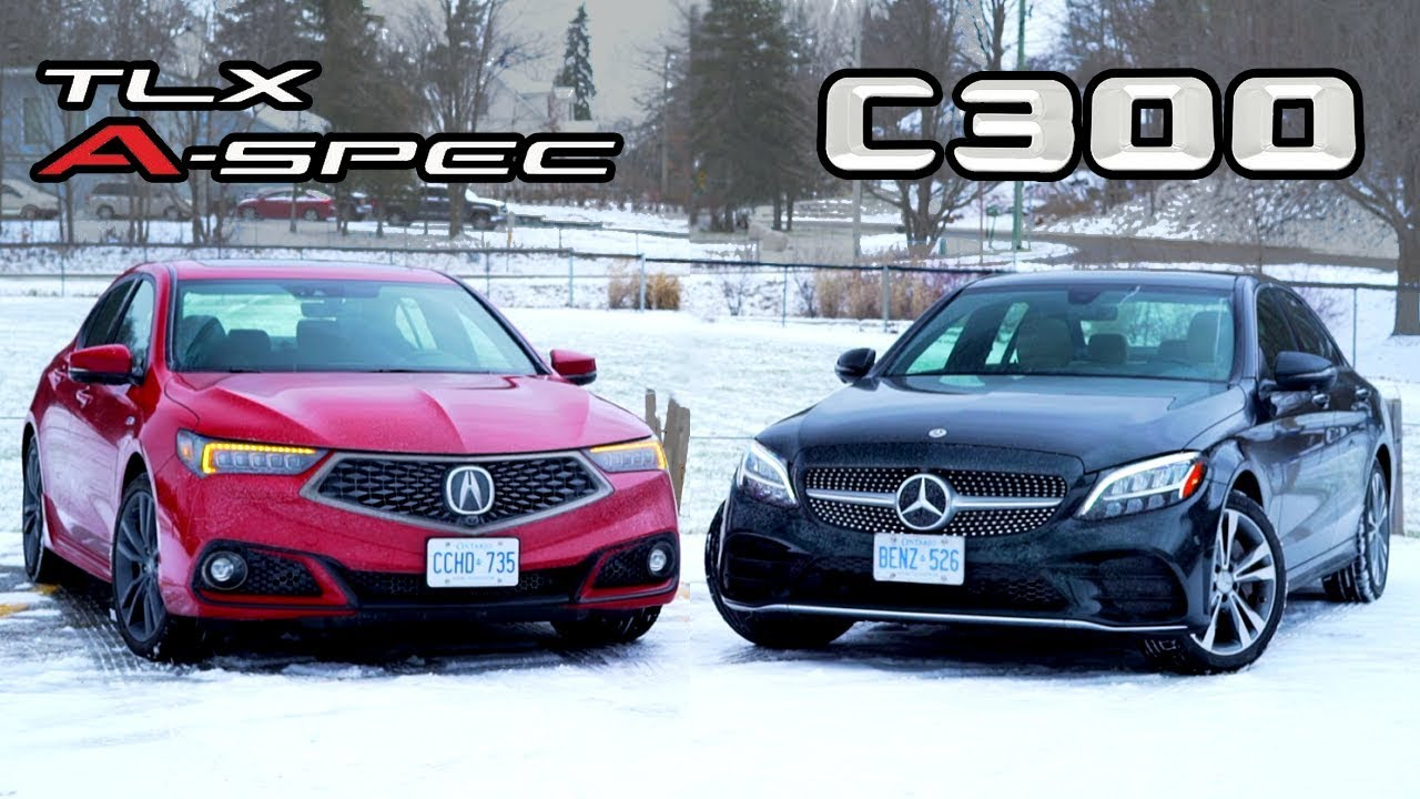 2019 Mercedes-Benz C-Class vs Acura TLX A-Spec // An Executive Decision.