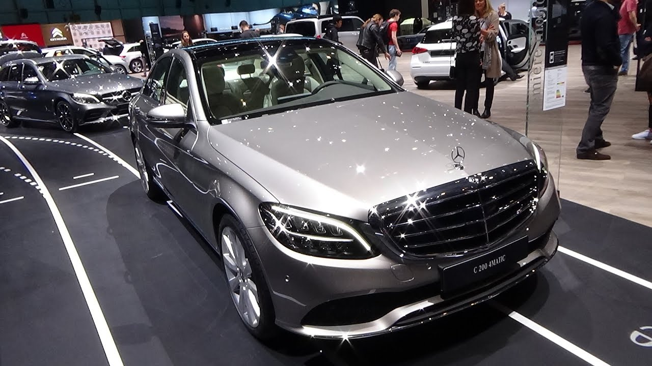 2019 Mercedes-Benz C200 4Matic Berline - Exterior and Interior