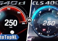 2019 Mercedes Benz CLS 400d vs 2019 BMW 540d ACCELERATION & TOP SPEED 0-250km/h