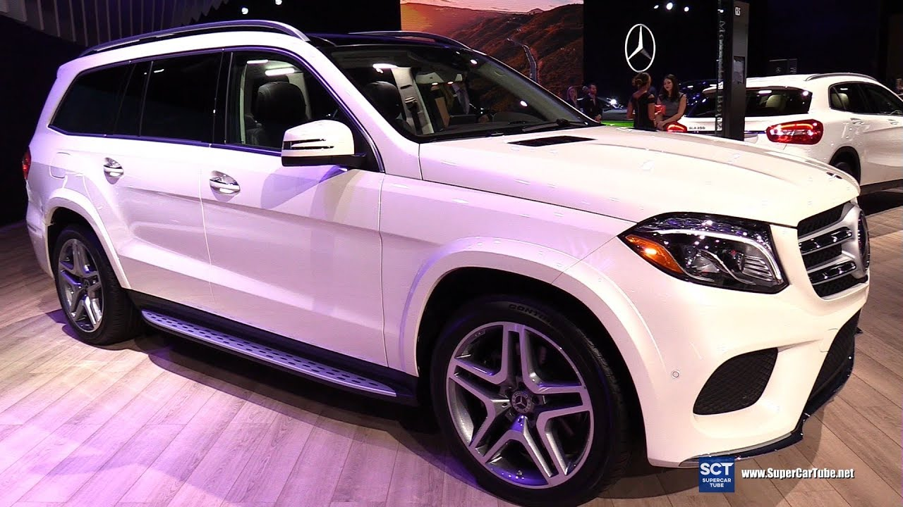 2019 Mercedes Benz GLS Class GLS 550 4Matic - Exterior Interior Walkaround